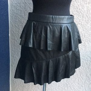 Nasty Gal Collection Asymmetrical Ruffle Skirt